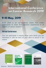 International Conference on Cancer Research 2019