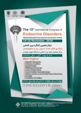 12th International Congress on Endocrine Disorders and Metabolism