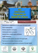 2nd international congress on health for peace
