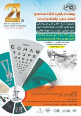 The 21st National Congress of Iranian Optical Scientific Society