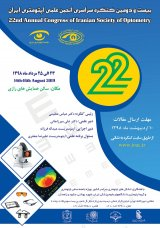 22th  National Congress of the Iranian Optical Scientific Society