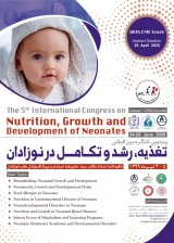 the 5th international congress on nutrition,growth and development of neonates